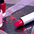 cosmetics: lipsticks and nail polish