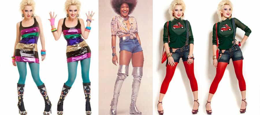 Мода 80-х годов с фото