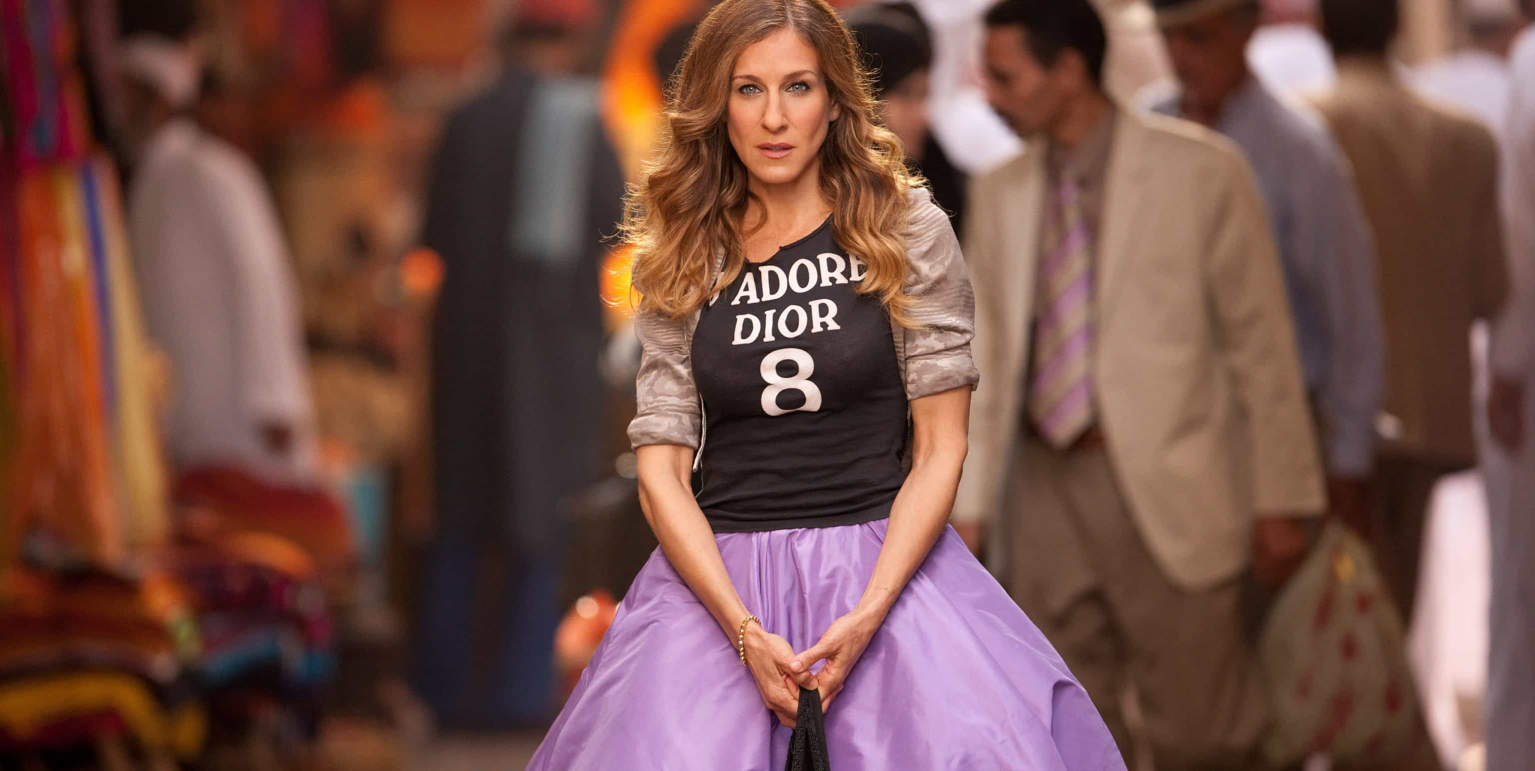 SARAH JESSICA PARKER as Carrie Bradshaw in New Line CinemaÕs comedy ÒSEX AND THE CITY 2,Ó a Warner Bros. Pictures release.