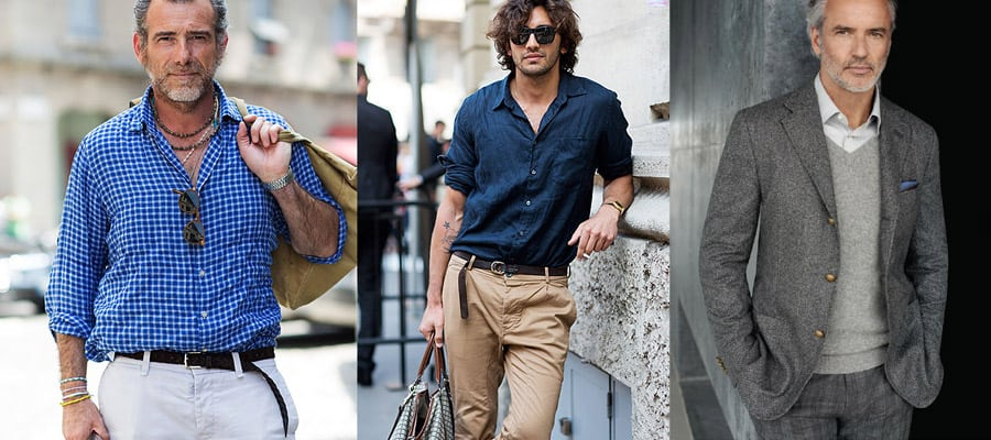 Как выбирать одежду, чтобы выглядеть в итальянском стиле