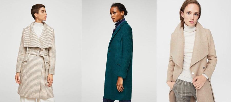 Пальто выглядят дорого и модно, а цена не высокая