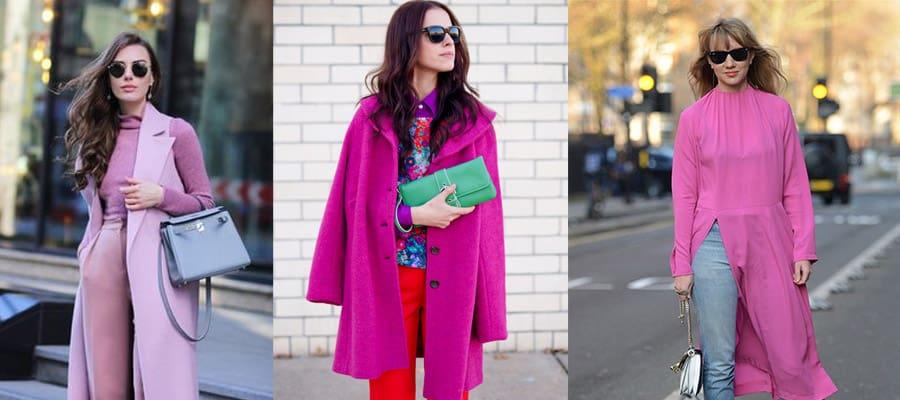Розовый в одежде подходит для всех возрастов