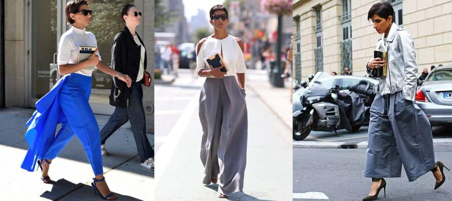 Фасоны брюк в стиле Дины Абдулазиз