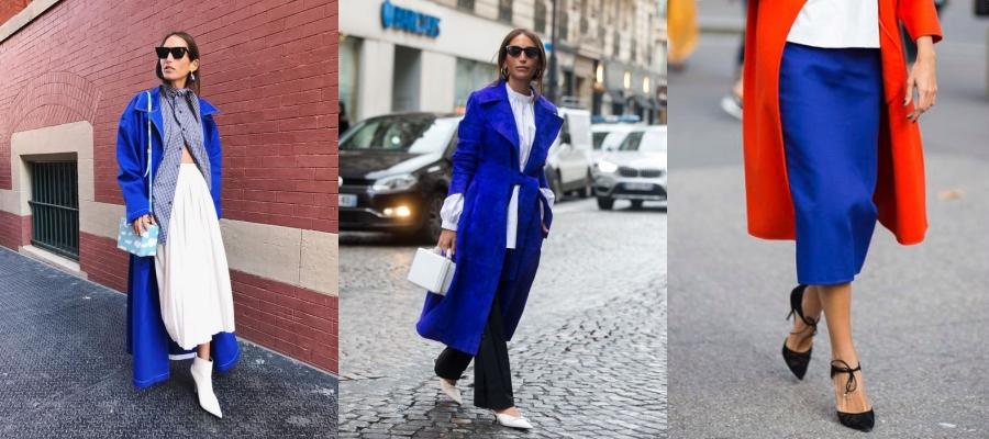 Оттенки синего - учимся носить главный цвет 2020 года